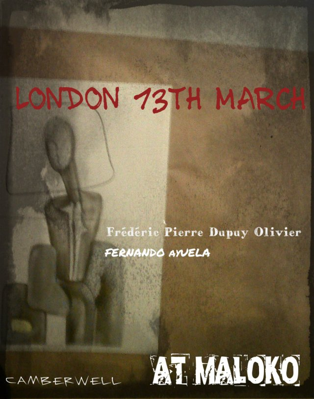 London 2015. Camberwell  13th March.